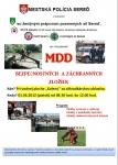 MDD bezpečnostných a záchranných zložiek
