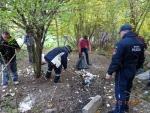Jesenná brigáda bezdomovcov